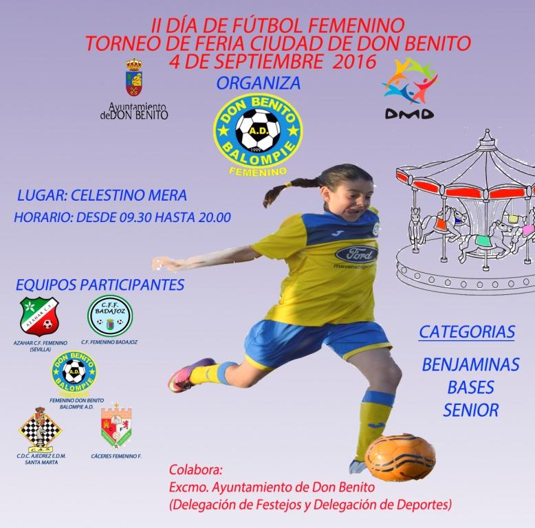 II Torneo del Femenino Don Benito Balompié ddd26ce9e266d