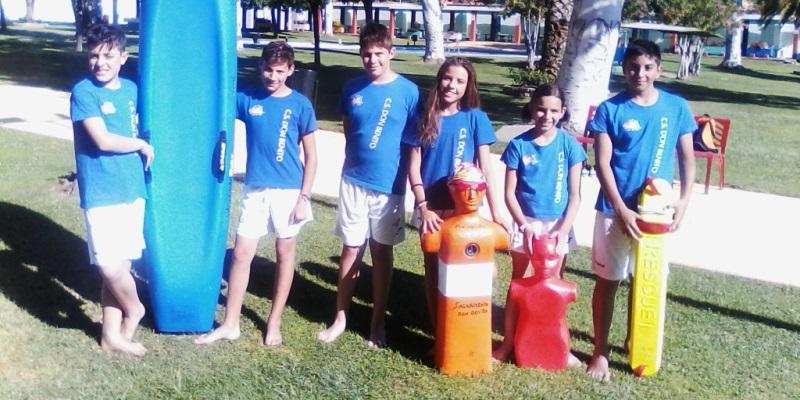 Seis socorristas del tiendas pavo al campeonato de espa a for Piscina don benito
