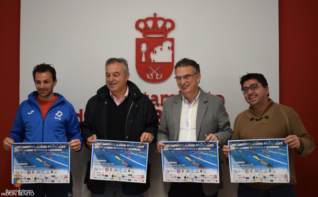 Campeonato de espa a de salvamento y socorrismo en don benito for Piscina don benito