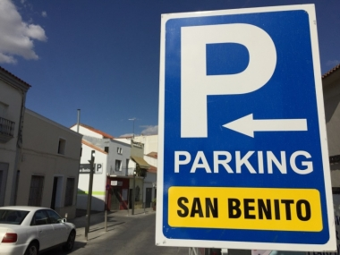 accesos al parking de San Benito